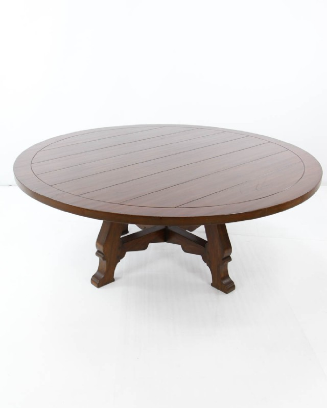 Tulip Tree Custom Round Table DINING TABLES Middlebury Consignment - Custom tulip table