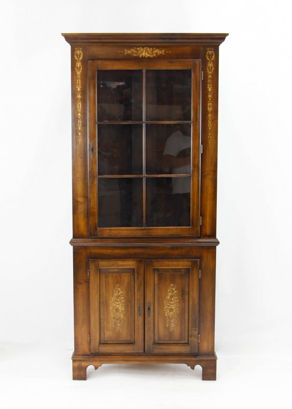 Hitchcock Kensington Corner Cabinet Hutch For Sale In Ct