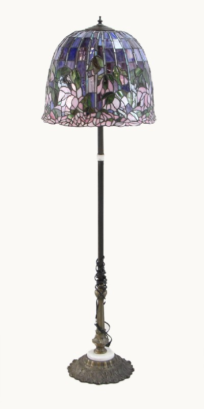 Stained Gl Floor Lamp