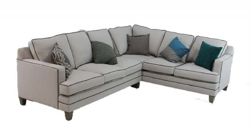 Two Piece Track Arm Sectional Sofa For Sale in CT | Middlebury ...