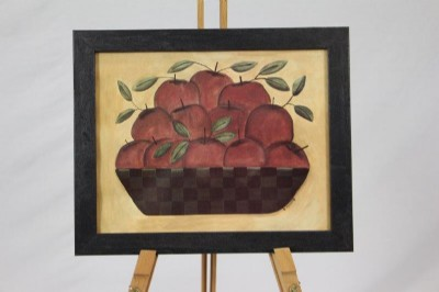 Apple Basket Print