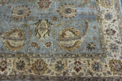 Antique Sultanbad  Wool Area Rug