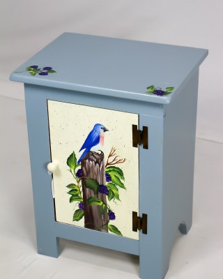 Small Painted Cabinet