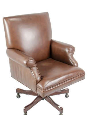 Hekman Leather Desk Chair