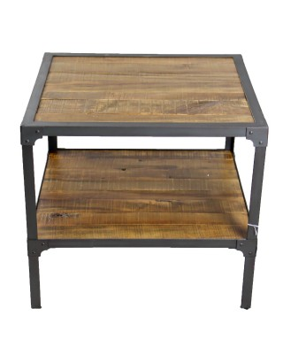 Rustic Two Tiered End Table