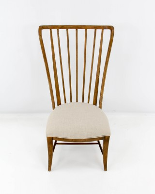 Tall Spindle Side Chair