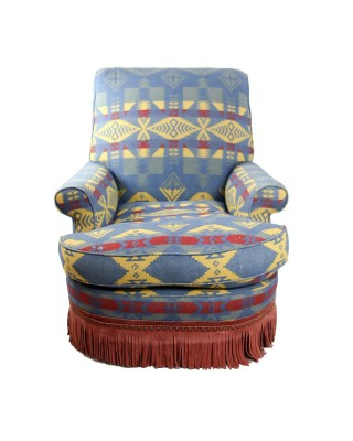 Century Chair covered in a Ralph Lauren Fabric