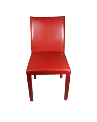 Red Full Leather Chair