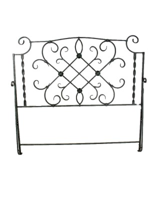 Verde Green Queen Iron Bed