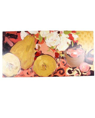 Stickley Accents Pear Painting