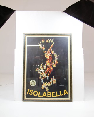 Isolabella Print by Leonetto Cappiello