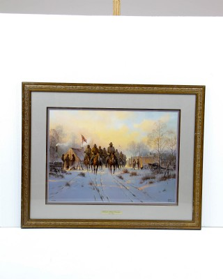 Framed Jackson's Winter Campaign by G. Harvey