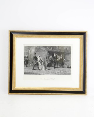 Print Entitled The Interupted Duel