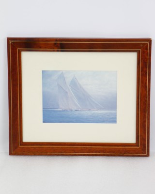 Framed Sailing Print