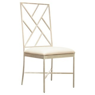 Silver Leaf Dining Chair