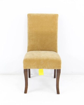 Parsons Style Ultrasuede Side Chair