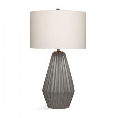Abner Grey Table Lamp