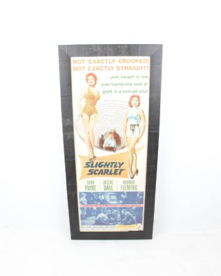 Slightly Scarlet Original Movie Poster