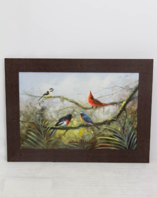 Family of Birds Painting