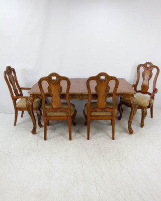 Tuscany Style Complete Dining Room Set