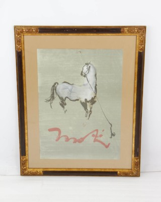 Todd Gallery Abstract Horse Print