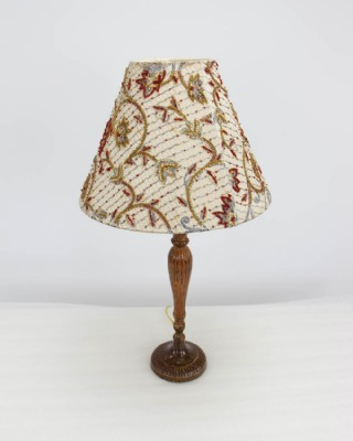 Beaded & Sequined Shade Table Lamp