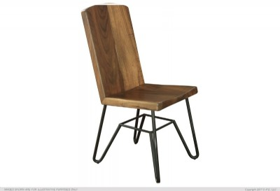 Chair with Iron Base