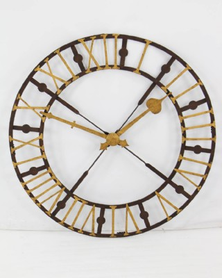 Cast Iron Decorative Wall Clock