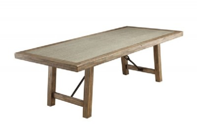 Colette Rustic Oak Rectangular Dining Table