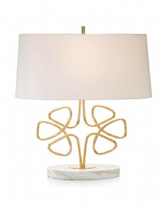 Brass Clover Table Lamp