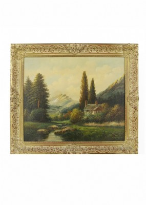 Thomas Manning Moore Oil Painting