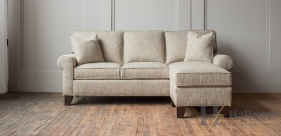 Three Cushion Sofa With Movable Chaise