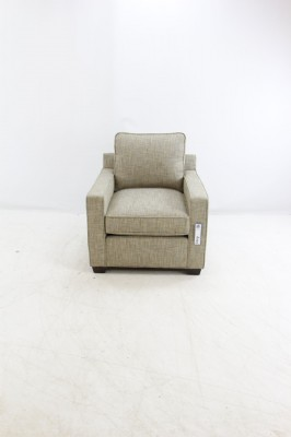 Java Upholstered Track Arm Chair