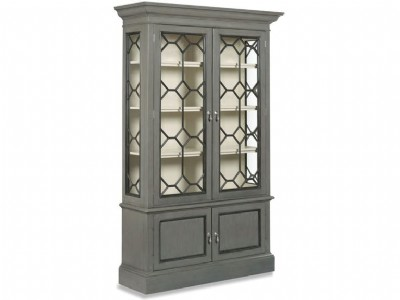Pearl White Interior Display Cabinet