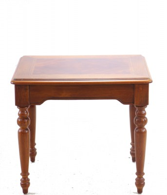 Inlaid Top Occasional Table