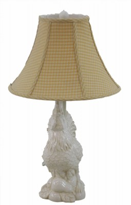 French Country Rooser Table Lamp