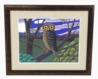 """The Owl"" Painting"