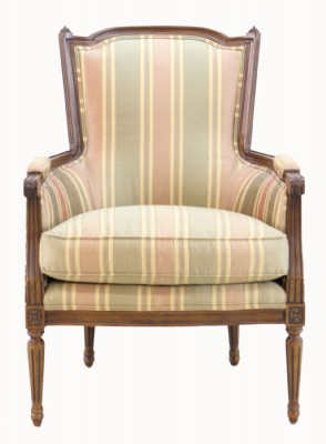 Victorian Style Upholstered Arm Chair