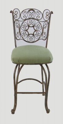 Iron Frame Bar Stool (PRICED AS IS)