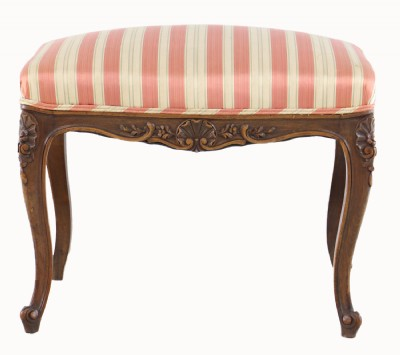French Provencial Upholstered Ottoman