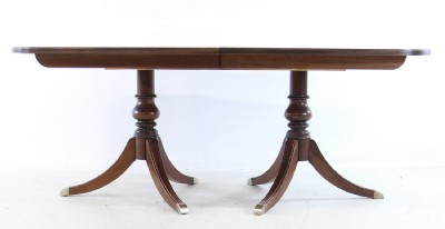 Newport Collection Flame Mahogany Dining Table