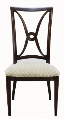 Set of 4 Upholstered Dining Chairs