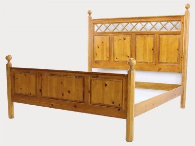 4 Piece Bedroom Set with King Size Bed