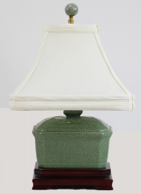 Asian Style Ceramic Table Lamp