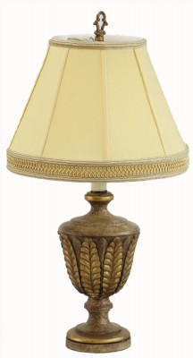 Golden Leaf Style Table Lamp
