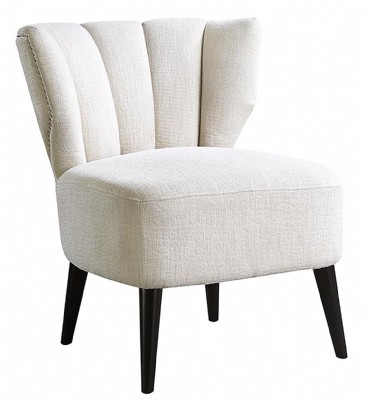 ACCENT CHAIR IN Royal Creme