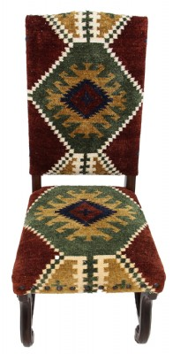 Set of 4 Navajo Upholstered Dining Chairs