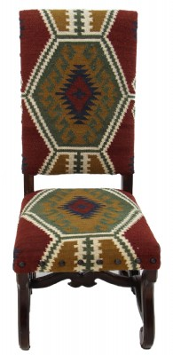 Set of 8 Navajo Upholstered Dining Chairs