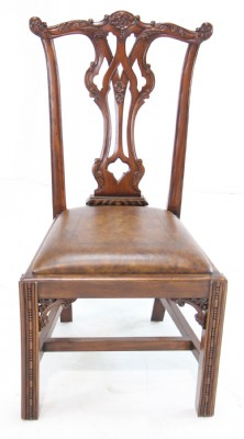 Set of Chippendale Style Chairs