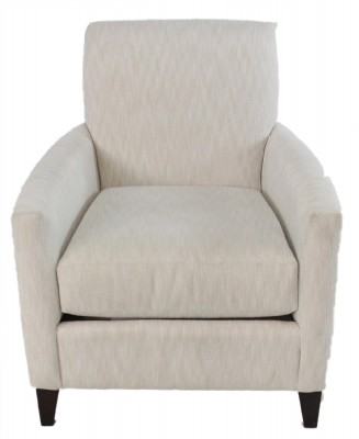 Beige Upholstered Armchair